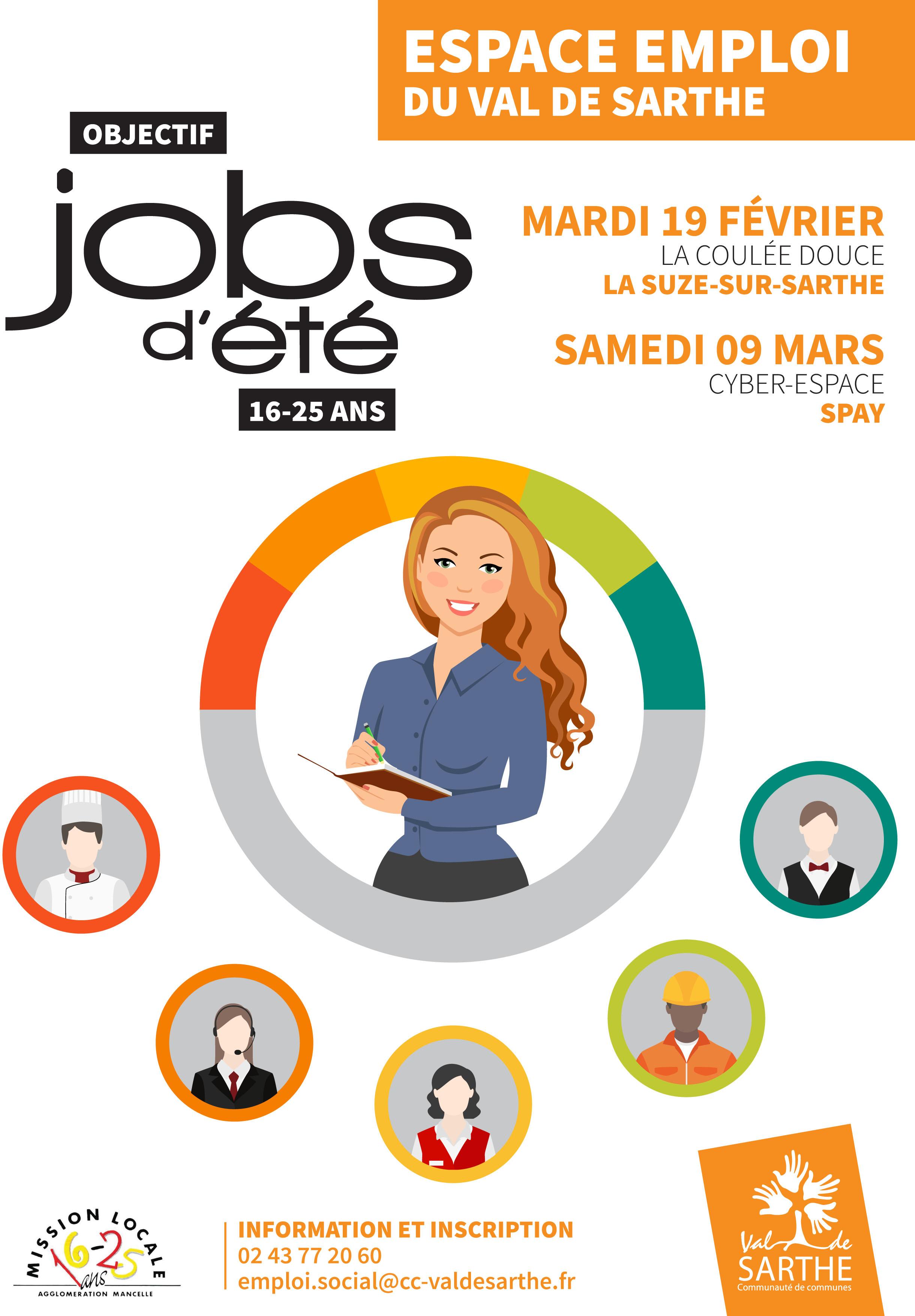 objectif jobs d u0026 39  u00e9t u00e9 pour les 16-25 ans